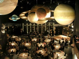 Book a reception hall that is out of this world!