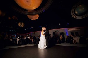 Weddings at theJohnson Geo Centre are out of this world!