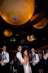 Weddings at the Johnson Geo Centre are out of this world!