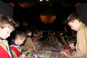 The Johnson GEO CENTRE has programs developed especially for Scouts and Guides.