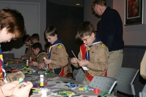 Scouts and Guides in St. John's are making the GEO CENTRE part of their evening schedule.