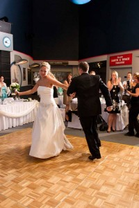 The Johnson Geo Centre brings the fun back to your wedding plans!