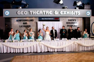 Wedding hall rentals in St. John's are picture perfect at the Johnson Geo Centre!