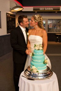 The Johnson Geo Centre makes your wedding reception even more magical!