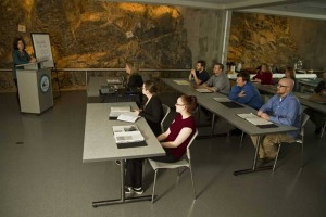 Lecture theatre in downtown St. John's