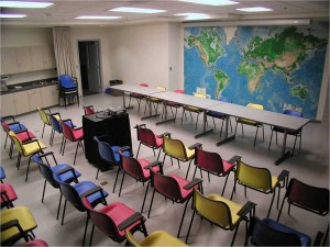 Bright and comfortable lecture space in downtown St. John's