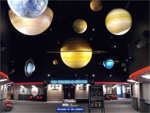 You'll be out of this world when you hold your event at the Johnson GEO CENTRE