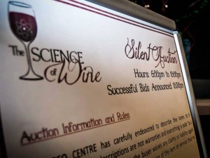 The Science of Wine and other fundraisers help keep the GEO CENTRE operating.