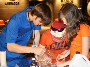 It takes a perfect blend of scientific knowledge and people skills to work at the GEO CENTRE.