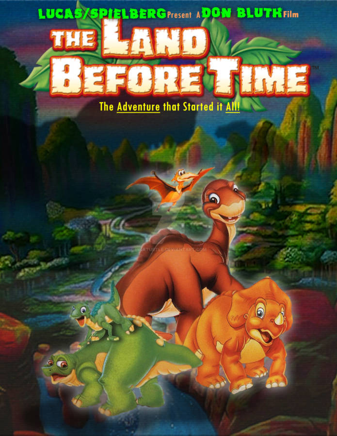 the_land_before_time_movie_poster_remake_by_pikaturtle-d7w2wwd