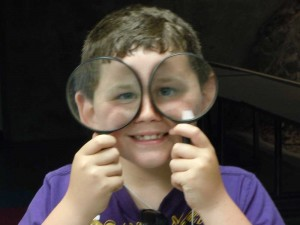 At the Johnson GEO CENTRE, lessons are tied to the curriculum, and a whole lot of fun!