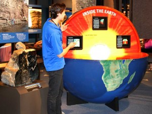 To dig really deep, take a guided tour through the GEO CENTRE.