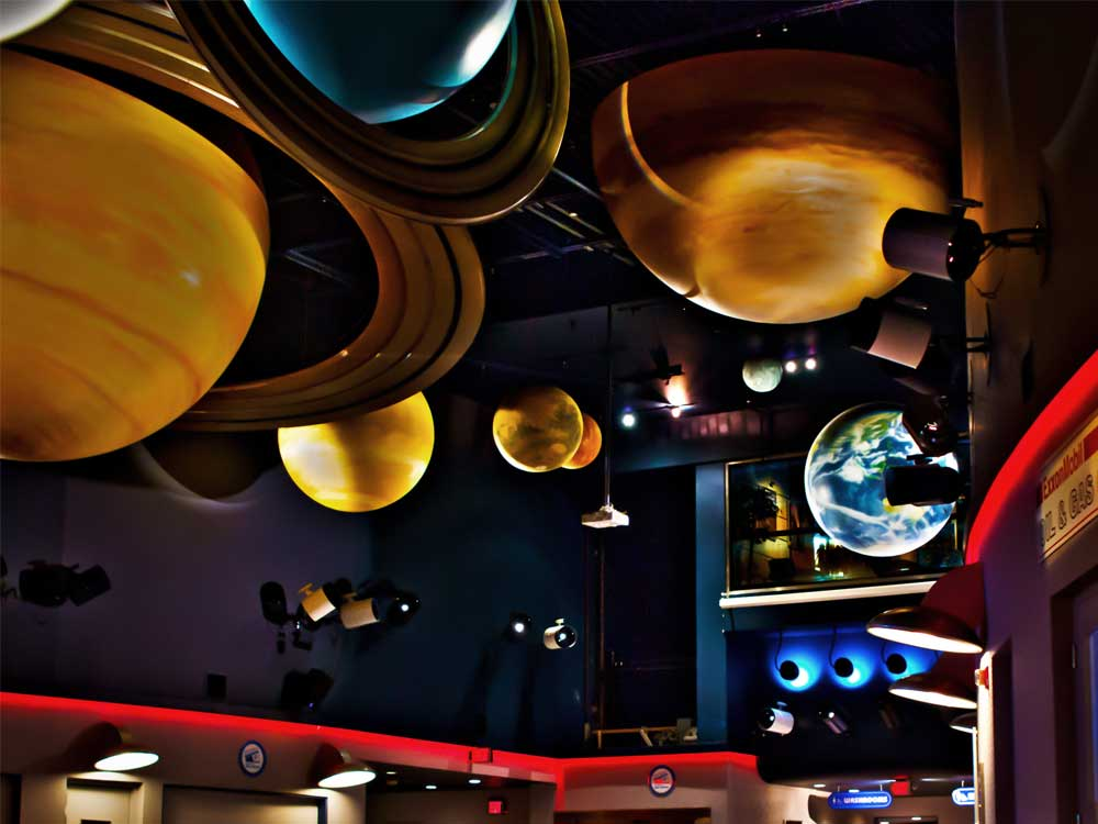 Solar System Johnson Geo Centre In St John S