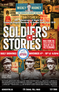 Soldiers Stories Poster