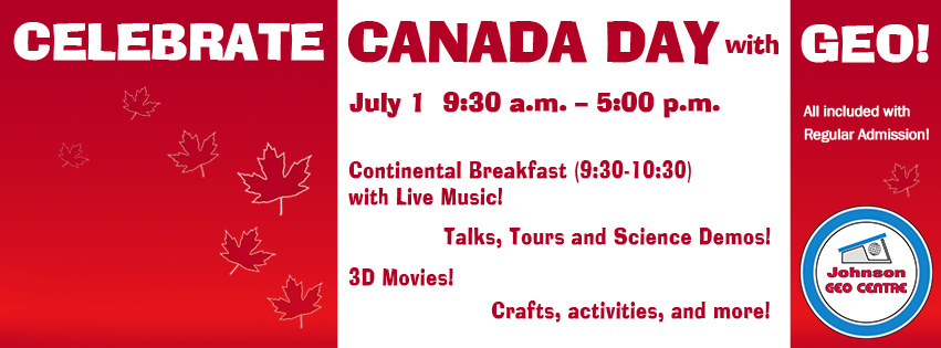 Canada Day at GEO