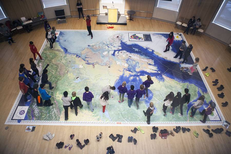 Arctic Alive Giant Map Activities — Johnson GEO CENTRE in St. John\'s